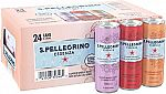 S.Pellegrino Essenza Flavored Mineral Water Variety Pack 11.15 Oz. (24 Pack) $11