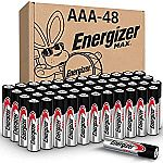 48-Ct Energizer MAX AAA Batteries $18