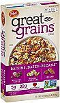 16-oz Post Great Grains Raisins Dates & Pecans Whole Grain Cereal $1.66