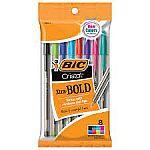 Walgreens - Free 8-Count BIC Cristal Xtra Bold Ballpoint Pens