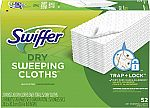 52-Ct Swiffer Dry Mop Sweeping Refill Pads $7.80 & More