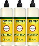 3-Pk Clean Day Dishwashing Liquid Dish Soap Honeysuckle Scent 16 oz $7.79