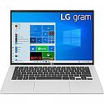 "LG gram 14"" 14Z90P WUXGA Laptop (i7-1165G7 8GB 512GB) $899"