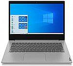 "Lenovo IdeaPad 3 14"" FHD Laptop (i3-1005G1 4GB 128GB 81WD010QUS) $389.99"