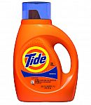 37-oz Tide Liquid Laundry Detergent (Various) $3