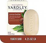 4.25-Oz Yardley London Pure Cocoa Butter & Vitamin E Bar Soap $0.69 or less