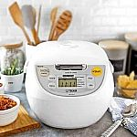 Tiger 5.5-Cup Micom Rice Cooker & Warmer (Made in Japan) $70