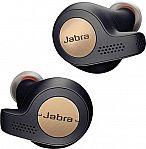 Jabra Elite Active 65t True Wireless Earbud Headphones $55