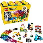 LEGO Classic Large Creative Brick Box 10698 Build Your Own Creative Toys $37.92
