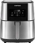 Chefman TurboFry Touch 8-Quart 1700 Watt Digital Air Fryer $58.50