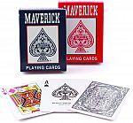2-Count Maverick Standard Index Playing Cards $0.75