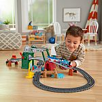 Thomas & Friends Bridge Lift Thomas & Skiff Motorized Train Set $13.32