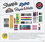 38-pc School Supplies Variety Pack $9.99