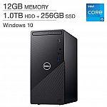 Costco Members: Dell Inspiron Desktop: i5-11400, 12GB DDR4, 1TB Hard Drive + 256GB SSD $549.99
