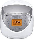 Cuckoo 6-Cup Micom Rice Cooker & Warmer (Made in Korea) $93