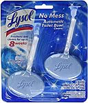 2-Ct Lysol No Mess Automatic Toilet Bowl Cleaner (Ocean Fresh Scent) $2.10