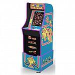 Arcade1Up Ms Pacman Arcade Machine with Riser $246