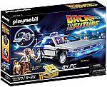 PLAYMOBIL 70317 Back to the Future DeLorean Vehicle (64-Pc) $23