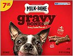 7-Lb Milk-Bone Gravy Bones Dog Biscuits $6.95
