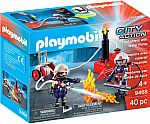 Playmobil City Action Fire Playsets: Firefighters w/ Water Pump $12.50, Water Canon $9.90