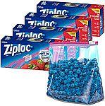 104-Ct Ziploc Slider Storage Bags (Gallon) $9.50