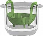 Instant Pot Silicone Steamer Basket (6-Qt or 8-Qt Pots) $6.65 and more