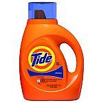 Walgreens Laundry Deals: 37-oz Tide (Various) $2.95 & More