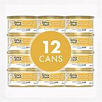 12 Cans 3 Oz Fancy Feast Natural Pate Wet Cat Food $6.49
