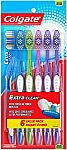 18-Ct Colgate Extra Clean Full Head Soft Toothbrush $7.65