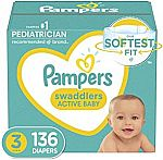 Amazon - $30 Off $100 Select Diapers and Wipes