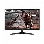 "LG 32"" 32GN600 UltraGear QHD 165Hz HDR 10 Monitor $249"