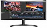 """LG 34WN80C-B 34"""" 21:9 Curved UltraWide WQHD IPS Monitor $542.02"""