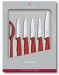 Victorinox Swiss Army 6-Piece Paring Knife Set w/ Peeler $23