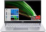 """Acer Swift 3 Thin & Light 14"""" FHD Laptop (Ryzen 7 5700U 8GB 512GB SF314-43-R2YY) $629.99"""