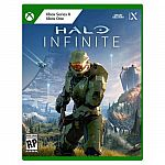 Halo Infinite Xbox One, Xbox Series X + $10 Rewards + SteelBook Case $60 (Preorder)