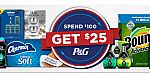 COSTCO - Spend $100 on P&G products, Get $25 Back