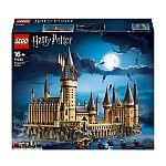 LEGO Harry Potter Hogwarts Castle (71043) $359, LEGO Technic Liebherr R 9800 Excavator $349