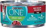 24-Ct Purina ONE 3 Oz Natural Wet Cat Food $10.42