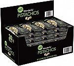 24-Pack 1.5-oz Wonderful Roasted and Salted Pistachios $14.20
