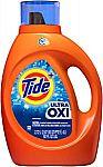 92-oz Tide Ultra Oxi Liquid Laundry Detergent Soap $9