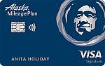 Alaska Airlines Visa Signature<sup>®</sup> credit card: 50,000 Bonus Miles + Alaska's Famous Companion Fare™ Offer