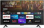 """Amazon Fire TV 50"""" 4-Series 4K UHD smart TV $360"""