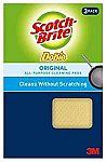 2-Pack 3M 722 Scotch-Brite Dobie Cleaning Pad $2