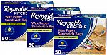 150-ct Reynolds Kitchens Sandwich and Snack Wax Paper Bags $8.39