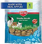 4-Oz Kaytee Timothy Biscuits Small Animal Treats $1