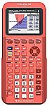 TI-84 Plus CE Python Color Graphing Calculator, Positive Coral-ation $125