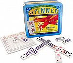 Spinner: The Game of Wild Dominoes, Double 9 Set Plus 11 Wild Spinner Tiles Board Game $7.80