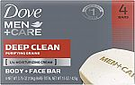 4-Ct Dove Men+Care Body and Face Bar (3 for $9) & More