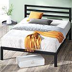 """Zinus Mia 38"""" Metal Platform Bed Frame with Headboard (Queen) $109"""