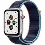 Apple Watch SE (GPS + Cellular, 44mm) $289